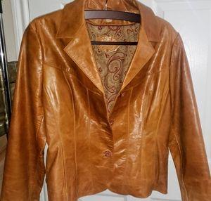 Wilson Vintage Ladies Genuine Lamb Scuba Jacket
